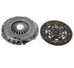 Kobling LuK Koblingssæt med koblingsskive, uden udrykkerleje, Specialværktøj er nødvending for montage, Kontroller dobbelmassesvinghjul og forny om nødvendigt, Til motorer med dobbeltpladesvinghjul