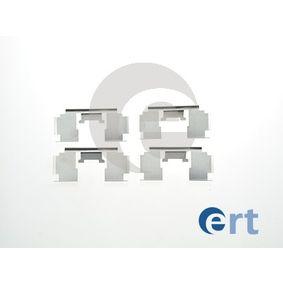 Комплект принадлежности, дискови накладки 420060 25 Хечбек (RF) 2.0 iDT Г.П. 1999