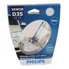 Bulb, spotlight D3S (Gas Discharge Lamp), 35W, 42V 42403WHV2S1
