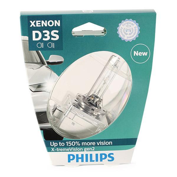Glühlampe, Fernscheinwerfer 42403XV2S1 PHILIPS D3S in Original Qualität