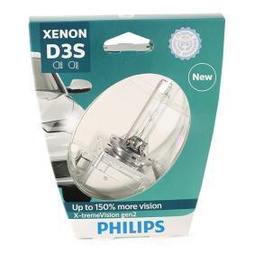 Glühlampe, Fernscheinwerfer D3S (Gasentladungslampe), 35W, 42V 42403XV2S1 VW GOLF, PASSAT, POLO