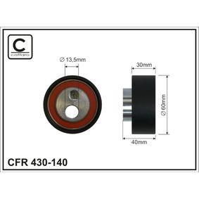 Rullo tenditore, Cinghia dentata Ø: 60mm con OEM Numero 94 0082 9629