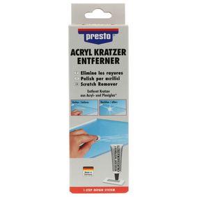 Kunststoffkleber PRESTO 430114 für Auto (50g, presto Acryl Kratzer-Entf. 50g)