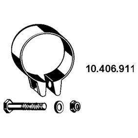 Röranslutning, avgassystem med OEM Koder 4.419.164