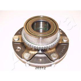 Radnabe Ø: 90mm, Zähnez. ABS-Ring: 54 mit OEM-Nummer 52710-4D-000