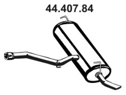EBERSPÄCHER  44.407.84 Endschalldämpfer