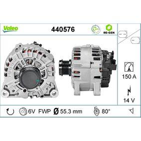 Generator Rippenanzahl: 6 mit OEM-Nummer AV6N10300GC