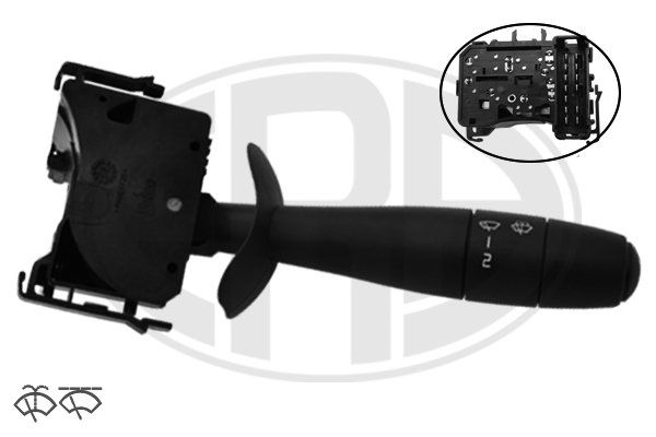 ERA  440634 Steering Column Switch Number of connectors: 13, with wipe interval function, with wipe-wash function