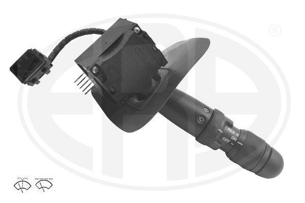 ERA  440656 Steering Column Switch Number of connectors: 6, with wipe interval function, with wipe-wash function