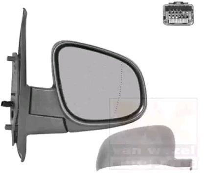 Spiegel 4412818 VAN WEZEL 4412818 in Original Qualität