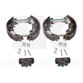 Brake Set, drum brakes 442369601 PANDA (169) 1.2 MY 2014