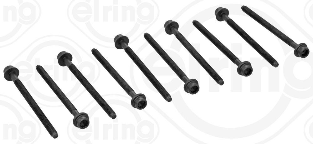 ELRING  445.910 Zylinderkopfschraubensatz Gewindemaß: M 9x1,25x140, Länge: 140mm