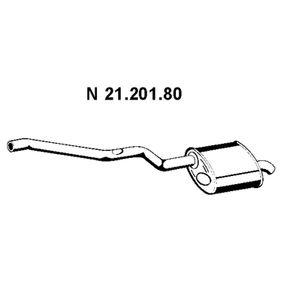 Endschalldämpfer Länge: 1430mm mit OEM-Nummer 18312248263