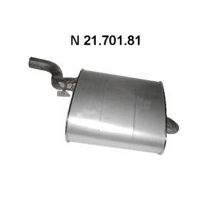 Endschalldämpfer Länge: 900mm mit OEM-Nummer 18107504980