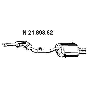 Endschalldämpfer Länge: 1550mm mit OEM-Nummer 18101437916
