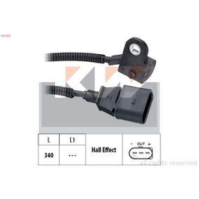 Sensor, posición arbol de levas Long. cable: 340mm con OEM número 045 957 147A