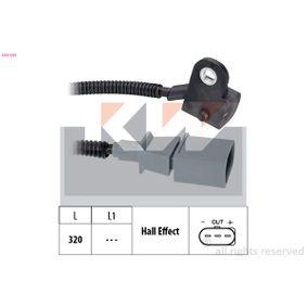 Sensor, posición arbol de levas Long. cable: 320mm con OEM número 03G957147B