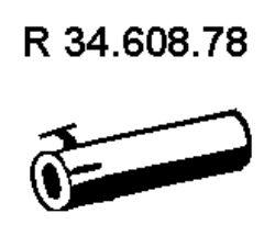 EBERSPÄCHER  34.608.78 Pakoputki