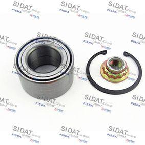 Juego de cojinete de rueda Ø: 74mm, Diám. int.: 40mm con OEM número 1J0 598 625