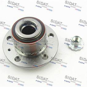Radlagersatz Ø: 127mm, Innendurchmesser: 27,5mm mit OEM-Nummer 6R0407621A