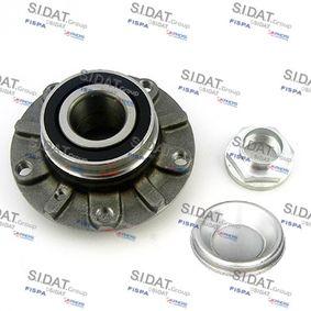 Radlagersatz Ø: 139mm, Innendurchmesser: 37mm mit OEM-Nummer 31 22 1 092 519