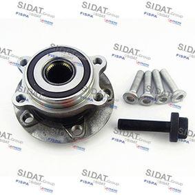 Radlagersatz Ø: 136,5mm mit OEM-Nummer 3C0 498 621