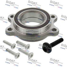 Radlagersatz Ø: 102mm, Innendurchmesser: 61, 62mm mit OEM-Nummer 4H0 498 625 B