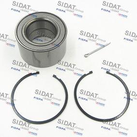 Radlagersatz Ø: 76mm, Innendurchmesser: 43mm mit OEM-Nummer 4021 02Y 000