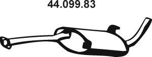 EBERSPÄCHER  44.099.83 Endschalldämpfer Länge: 1280mm, Länge: 1280mm