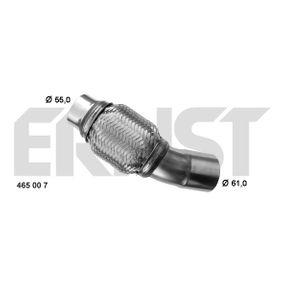 ERNST ремонтна тръба, катализатор (465007) за с ОЕМ-номер 18307812279