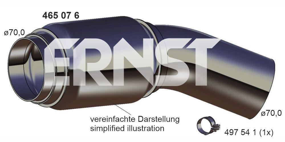 ERNST  465076 Reparaturrohr, Katalysator