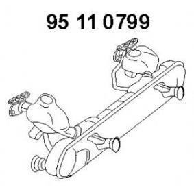 Mittelschalldämpfer mit OEM-Nummer 113251053BN