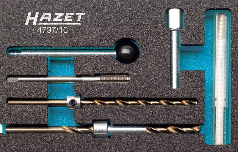 HAZET  4797/10 Surtido herramientas, inserción roscas