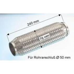 EBERSPÄCHER  99.004.79 Flexrohr, Abgasanlage Länge über Alles: 240mm, Innendurchmesser: 50mm, 75mm