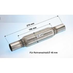 EBERSPÄCHER  99.107.79 Flexrohr, Abgasanlage Länge über Alles: 270mm, Innendurchmesser: 45mm, 75mm