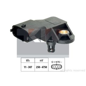 Sensore pressione aria, Aggiustaggio altimetrico con OEM Numero 504 245257