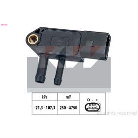 Senzor, tlak vyfuk.plynu 493 266 Octa6a 2 Combi (1Z5) 1.6 TDI rok 2011