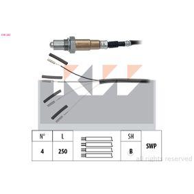 Lambdasonde Kabellänge: 250mm mit OEM-Nummer XL3F9F472BA