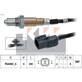 Lambdasonde Kabellänge: 450mm mit OEM-Nummer 3921026810