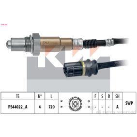Lambdasonde Kabellänge: 720mm mit OEM-Nummer A0025400817