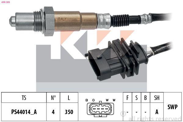 KW  498 305 Lambdasonde Kabellänge: 350mm