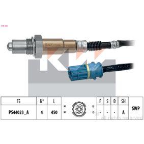 Lambdasonde Kabellänge: 450mm mit OEM-Nummer 11787 539 126