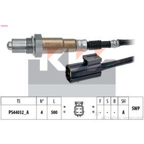 Lambdasonde Kabellänge: 500mm mit OEM-Nummer 3921023800