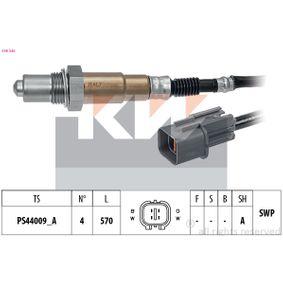 Lambdasonde Kabellänge: 570mm mit OEM-Nummer 392102B323