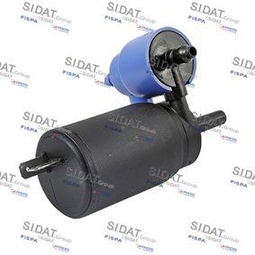 Waschwasserpumpe, Scheibenreinigung Anschlussanzahl: 2 mit OEM-Nummer 1450 162