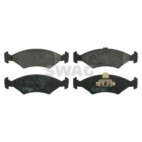 Bremsbelagsatz, Scheibenbremse Breite: 46,4mm, Dicke/Stärke 1: 18mm mit OEM-Nummer 1 010 503