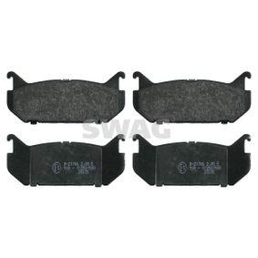 Bremsbelagsatz, Scheibenbremse Breite: 43,5mm, Dicke/Stärke 1: 14mm mit OEM-Nummer G5Y62648Z