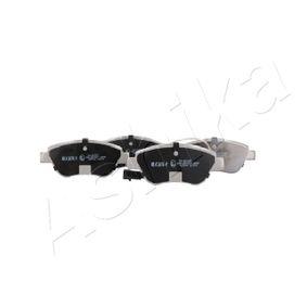 Bremsbelagsatz, Scheibenbremse Breite: 53,4mm, Dicke/Stärke: 17,1mm mit OEM-Nummer 77 365 651