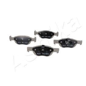 Brake Pad Set, disc brake 50-00-0036 PUNTO (188) 1.2 16V 80 MY 2004