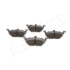 Bremsbelagsatz, Scheibenbremse Breite: 54,7mm, Dicke/Stärke: 19,7mm mit OEM-Nummer 6Q0-698-151